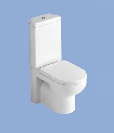 Alföldi Liner Mélyöblítésű monoblokk WC