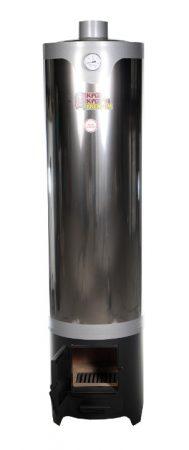 Fatüzelésű bojler inox 120 L