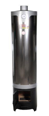 Fatüzelésű bojler inox 90 L