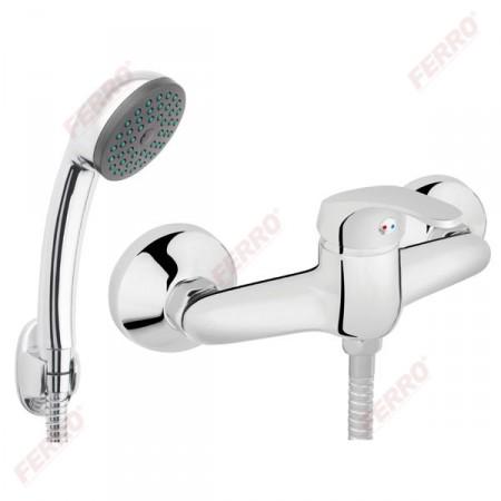 Ferro Basic fali zuhanycsaptelep zuhanyszettel