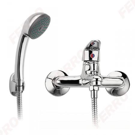 Ferro Smile fali kádcsaptelep zuhanyszettel