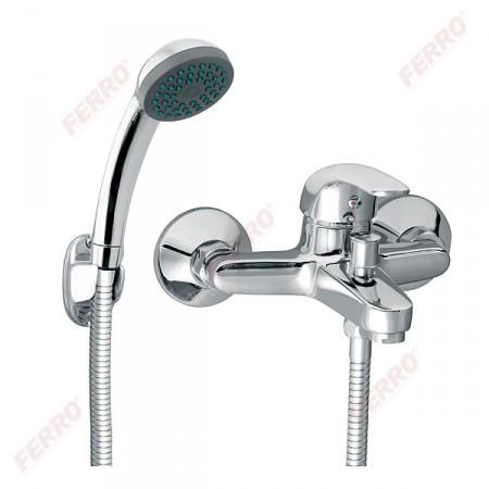 Ferro Vasto fali kádcsaptelep zuhanyszettel