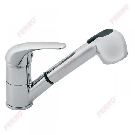 Ferro Vasto álló konyhai csaptelep kihúzható zuhanyfejjel