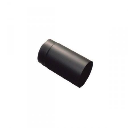 Fekete füstcső  130/250 mm