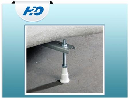 H2O Vízszintező láb peremrögzítő csomaggal