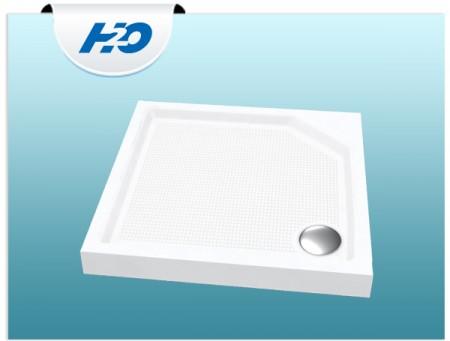 H2O Zénó szögletes zuhanytálca szifonnal