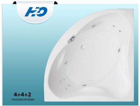 4+4+2 masszázsrendszer H2O kádakhoz
