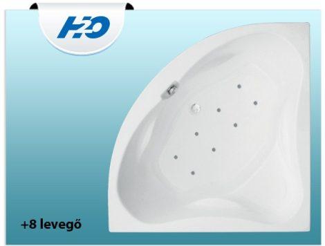 +8 levegő fúvókás pezsgőfürdő H2O kádakhoz