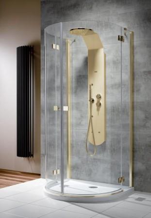 Radaway Almatea P Gold U-alakú zuhanykabin