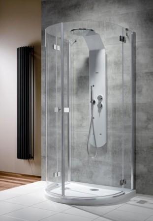 Radaway Almatea P U-alakú zuhanykabin