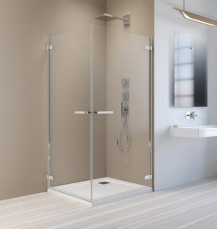 Radaway Arta KDD II szögletes zuhanykabin