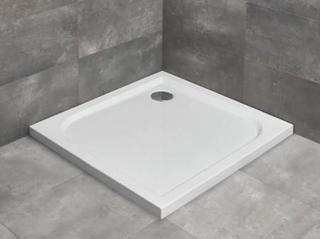 Radaway Delos C szögletes zuhanytálca lapos