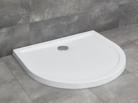 Radaway Delos P U-alakú zuhanytálca lapos