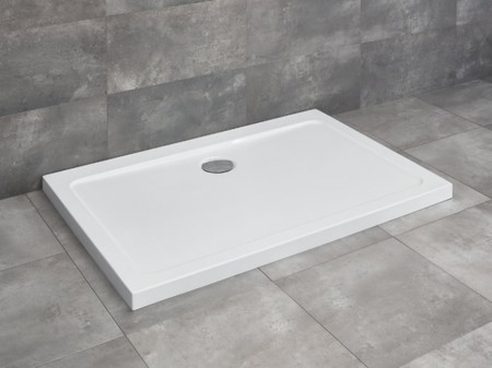 Radaway Doros D szögletes asszimetrikus zuhanytálca