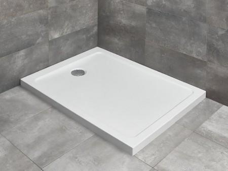 Radaway Doros F szögletes asszimetrikus zuhanytálca
