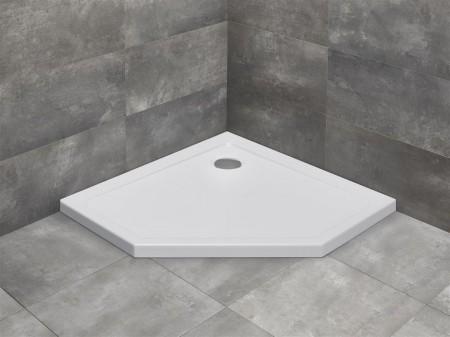 Radaway Doros PT szögletes zuhanytálca ötszögletű