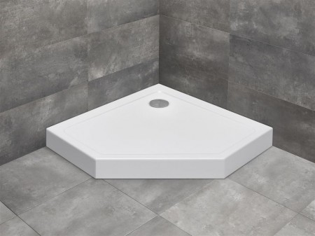 Radaway Doros PT  Compact szögletes zuhanytálca ötszögletű