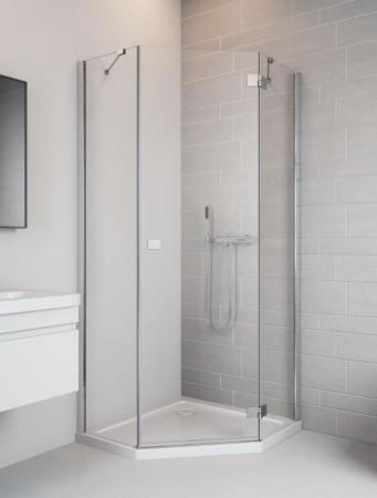 Radaway Essenza New PTJ szögletes zuhanykabin