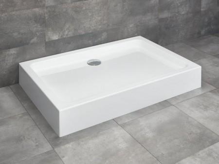 Radaway Laros D szögletes asszimetrikus zuhanytálca