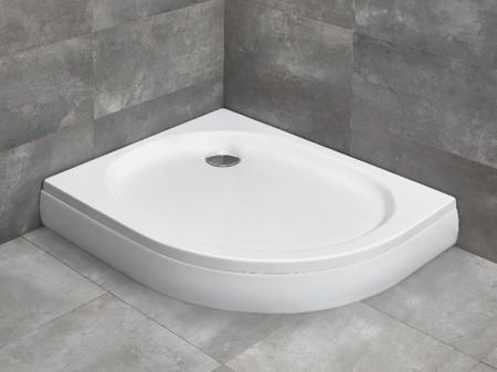 Radaway Patmos E íves asszimetrikus zuhanytálca